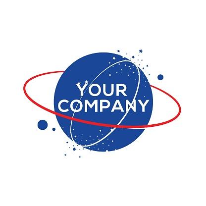 Saturn vector logo image