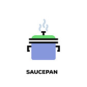 Saucepan Line Icon