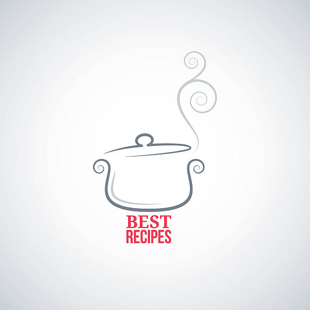 saucepan ornament background saucepan ornament background cooking chef 8 eps cooking clipart stock illustrations