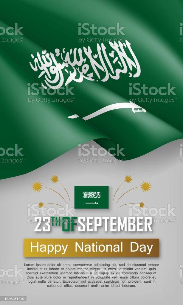 saudi arabia independence day vertical flyer stock vector art more