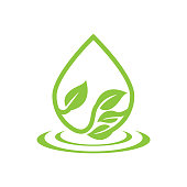save environment. eps 10 vector file
