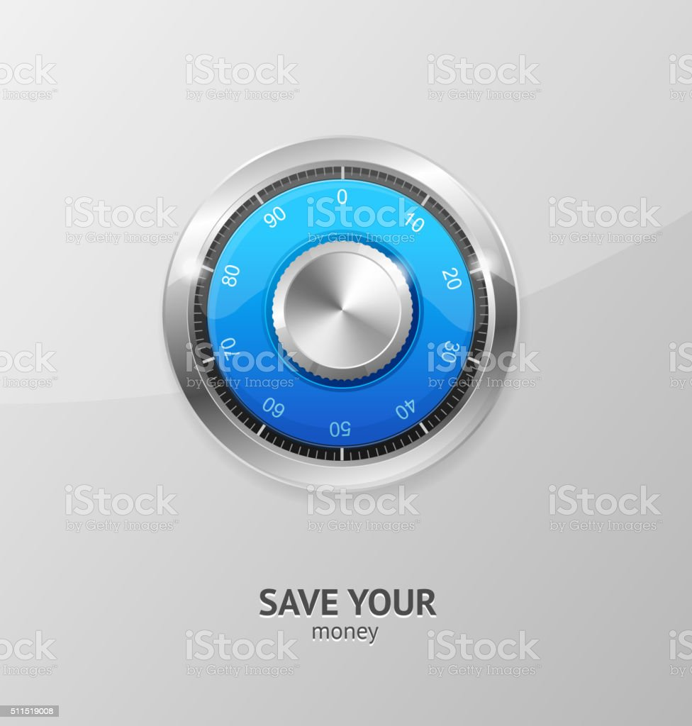 Save Money Concept. Vector vector art illustration