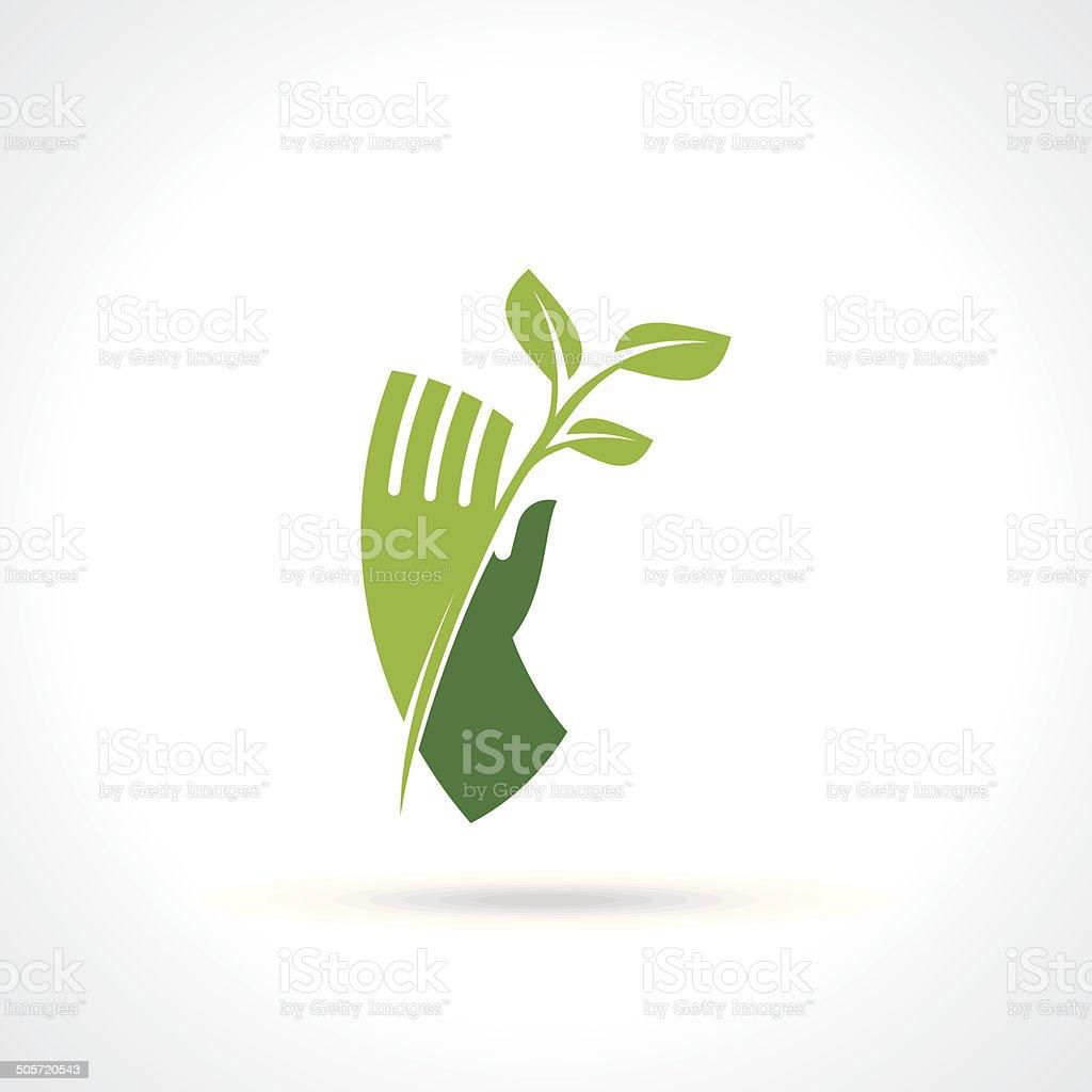 save nature concept - Illustration vector art illustration