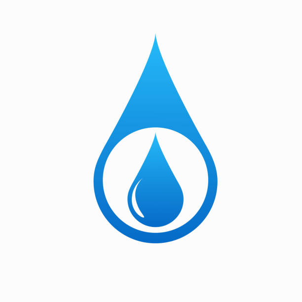 Save Nature Concept - World Water Day vector art illustration