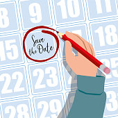 istock Save the Date. Appointment. Meeting. Schedule. Event Concept 1221365916