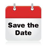 istock Save the Date Calendar 1007304432
