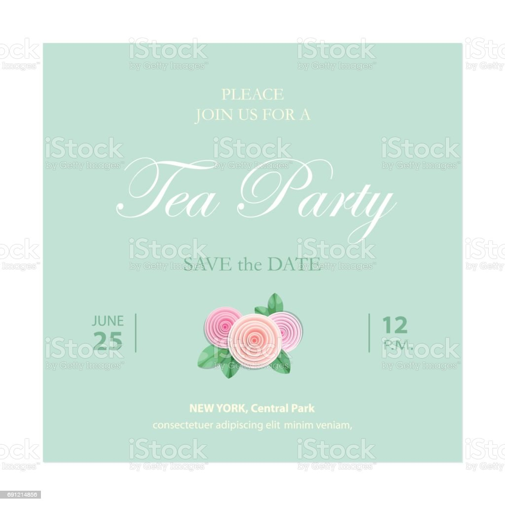 Save The Date Invitation Card Wedding Template With Sample ...