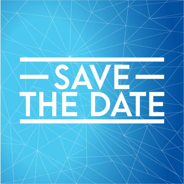speichern sie das datum-stempel-konzept. infografik-abbildung. - save the date stock-grafiken, -clipart, -cartoons und -symbole