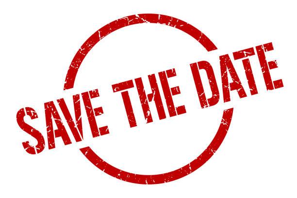 speichern sie die datum-stempel - save the date stock-grafiken, -clipart, -cartoons und -symbole