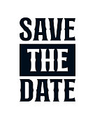 istock Save the date. stylish typography design. 1326643399
