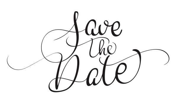 save the date clip art free