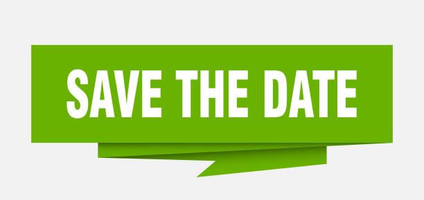 speichern sie das datum - save the date stock-grafiken, -clipart, -cartoons und -symbole
