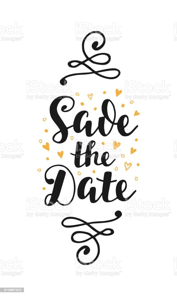 save the date wedding invitation card stock vector art more images rh istockphoto com