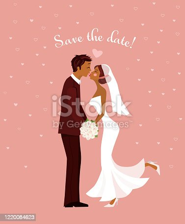 istock Save the Date Wedding Invitation 1220084623