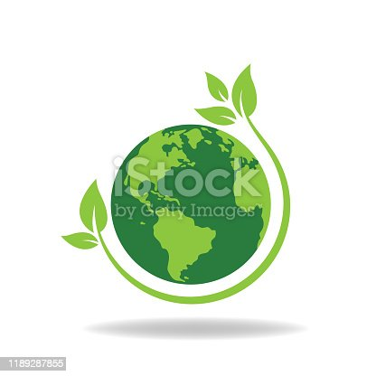 save the world. eps 10 vector file