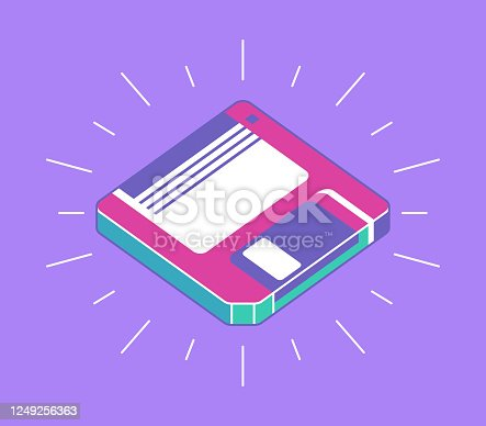 istock Saving Files Diskette 1249256363