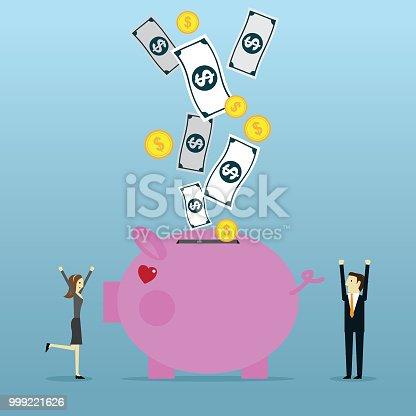 Bank, Coin Bank, Piggy Bank, Currency, Finance