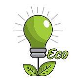 saving planet bulbs icon