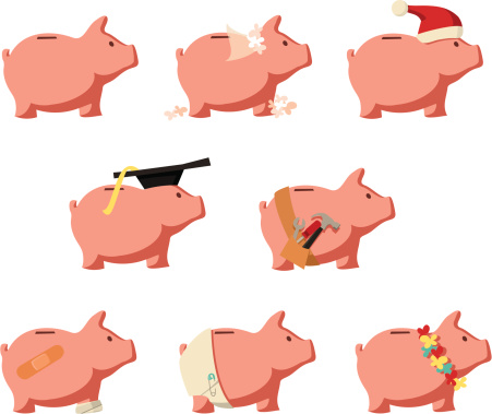 Saving Up: Piggy Banks for Different Purposes