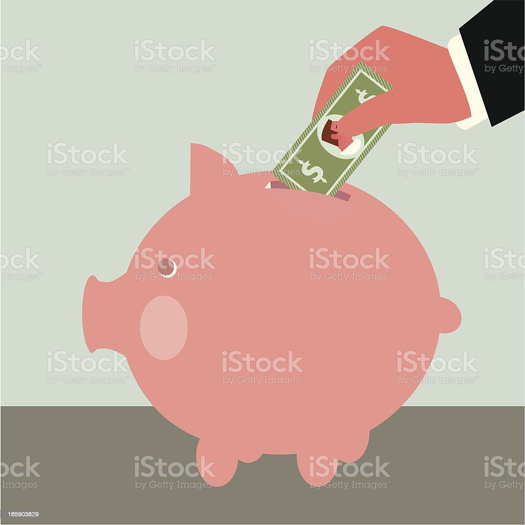 Saving royalty-free saving stock vector art & more images of business