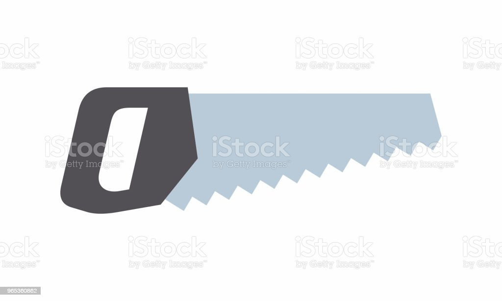 Saw icon royalty-free saw icon stock vector art & more images of carpentry