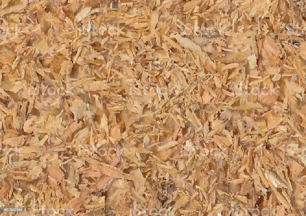Sawdust Background vector art illustration