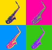 istock Saxophones 1213045805