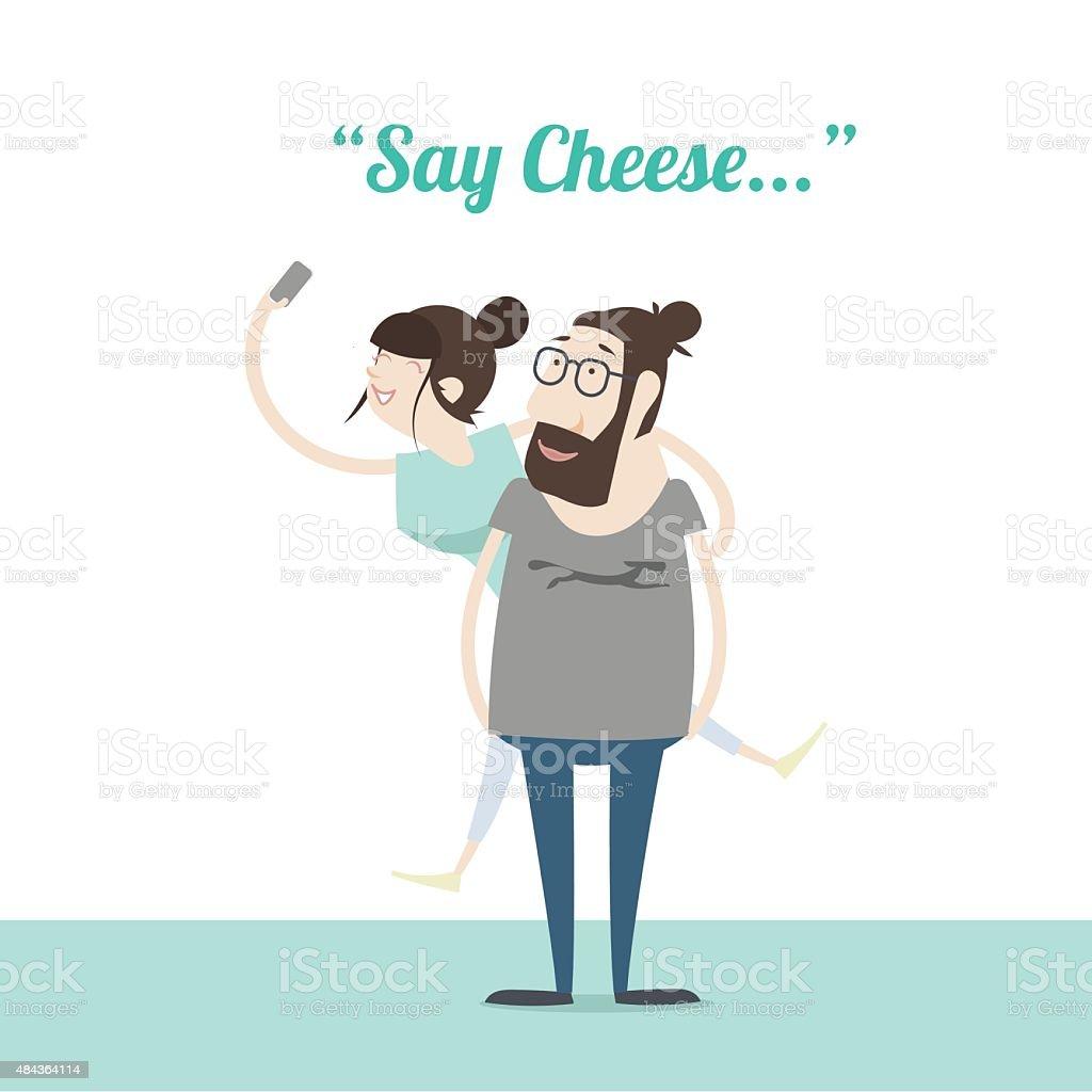 Sagen-Käse – Vektorgrafik