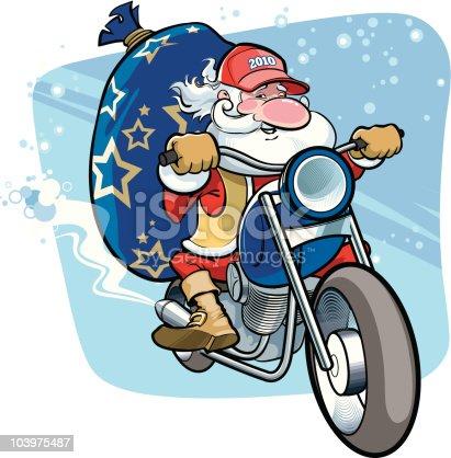 istock Say hello to Santa! 103975487