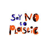 Say no to plastic cartoon lettering