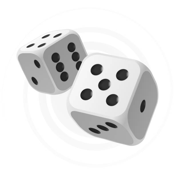 dices - dice stock illustrations, clip art, cartoons, & icons