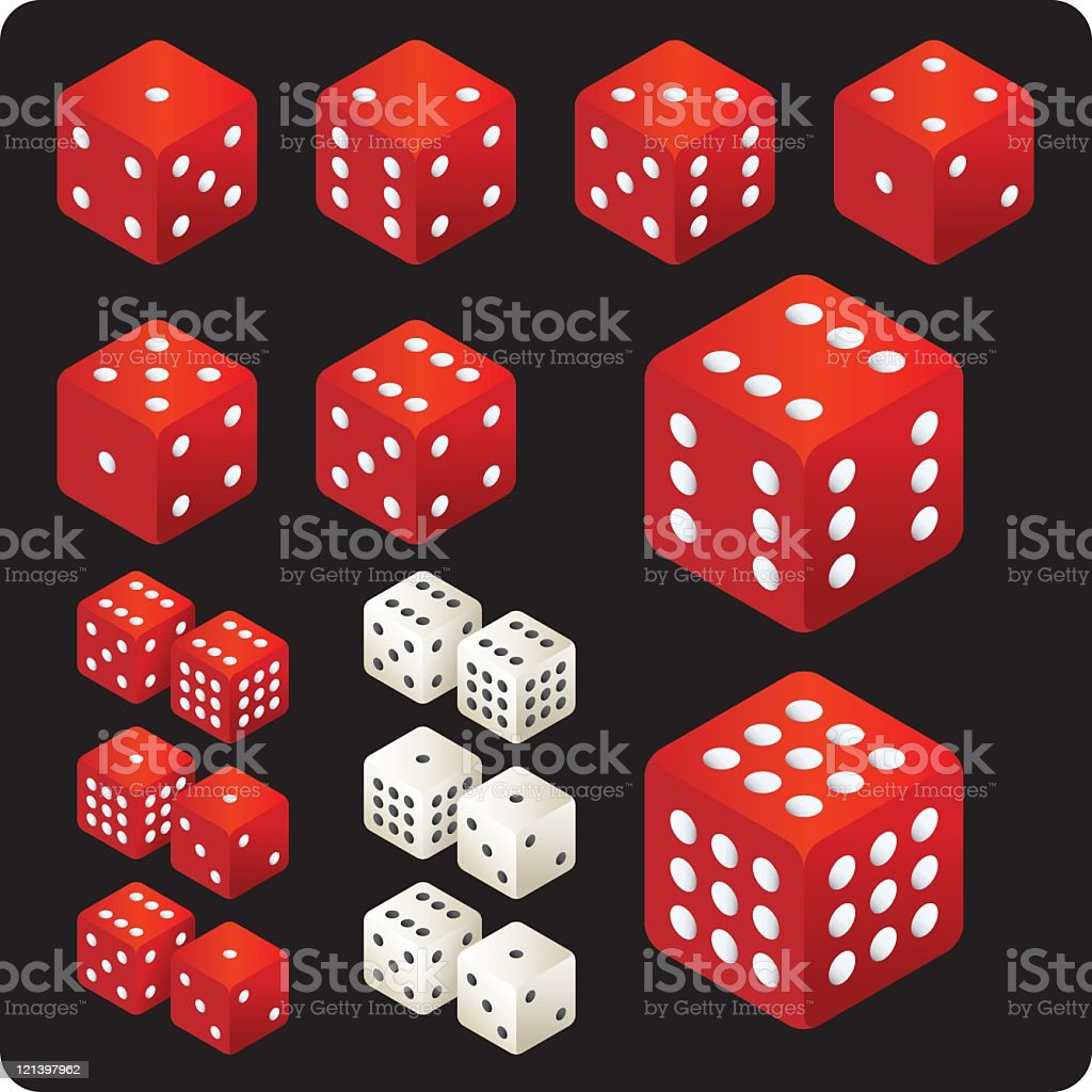 Dice royalty-free dice stock vector art & more images of color image