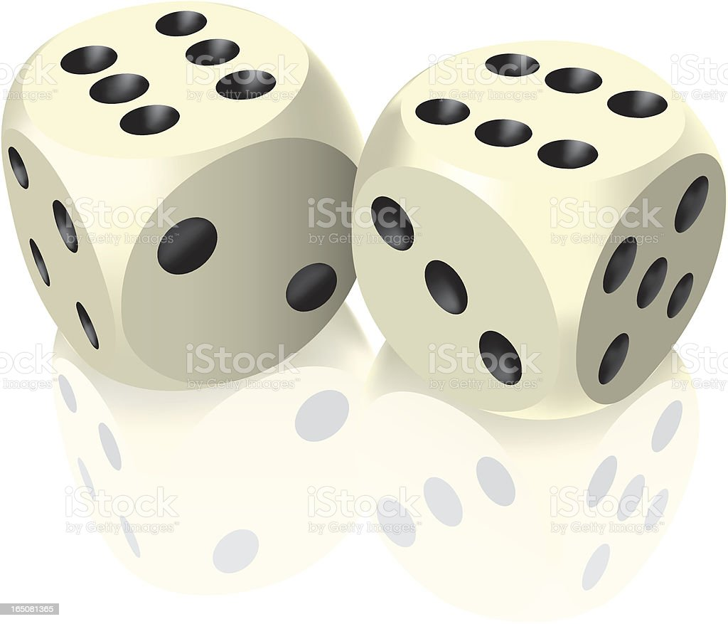 Dice royalty-free dice stock vector art & more images of chance
