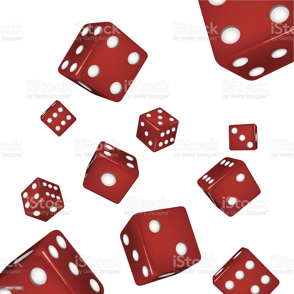 Dice royalty-free dice stock vector art & more images of arts culture and entertainment