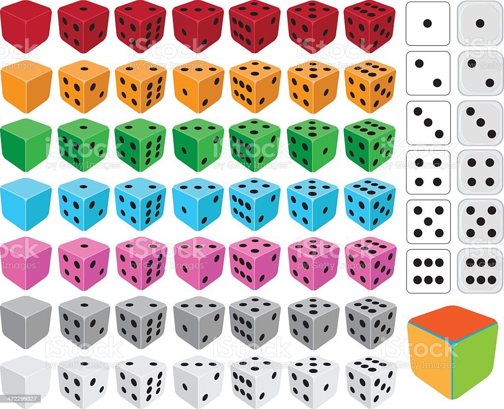 Dice royalty-free dice stock vector art & more images of blank