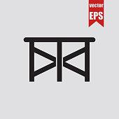 Scaffold icon.Vector illustration.