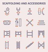 scaffolding accessory icon