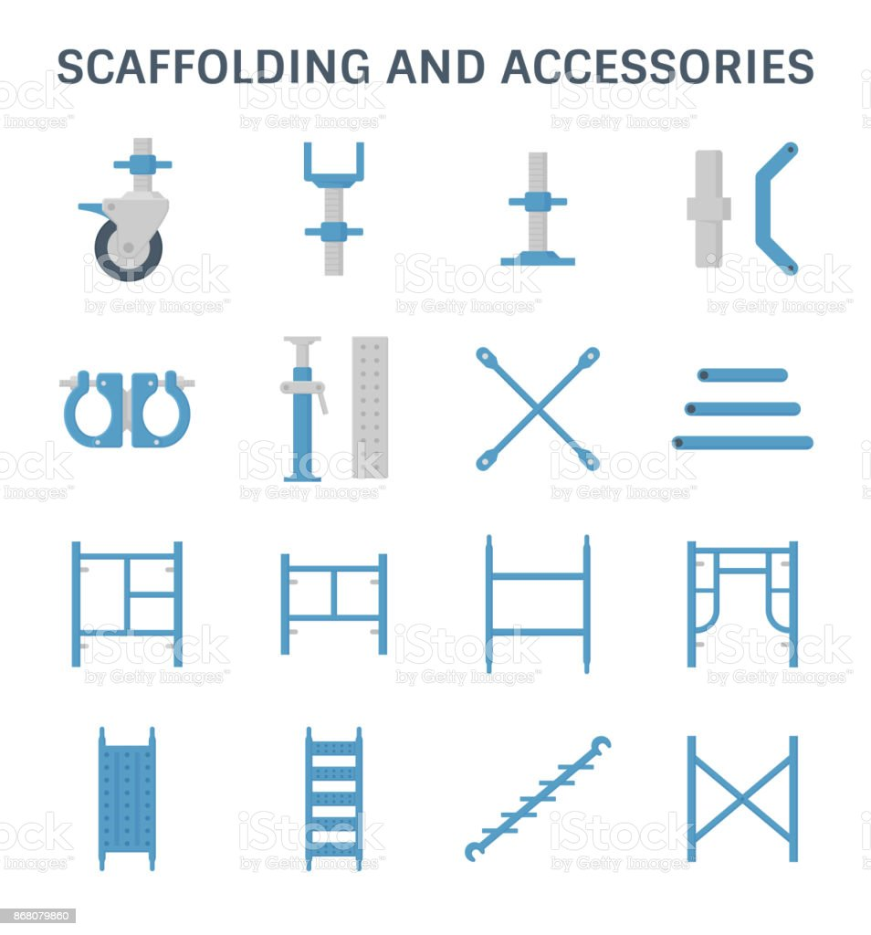 scaffolding pipe icon