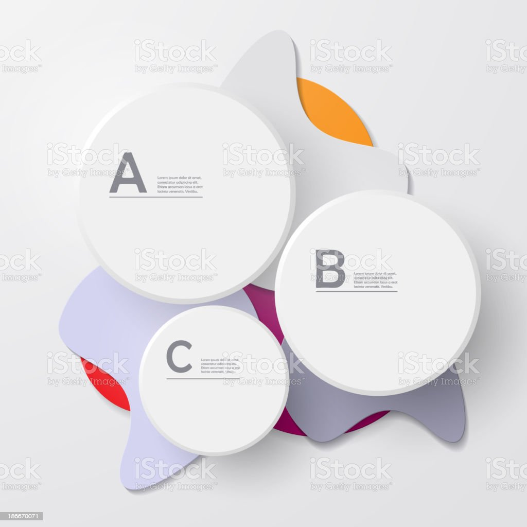 Scale for information vector art illustration