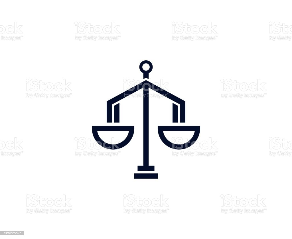 Scale icon royalty-free scale icon stock vector art & more images of balance
