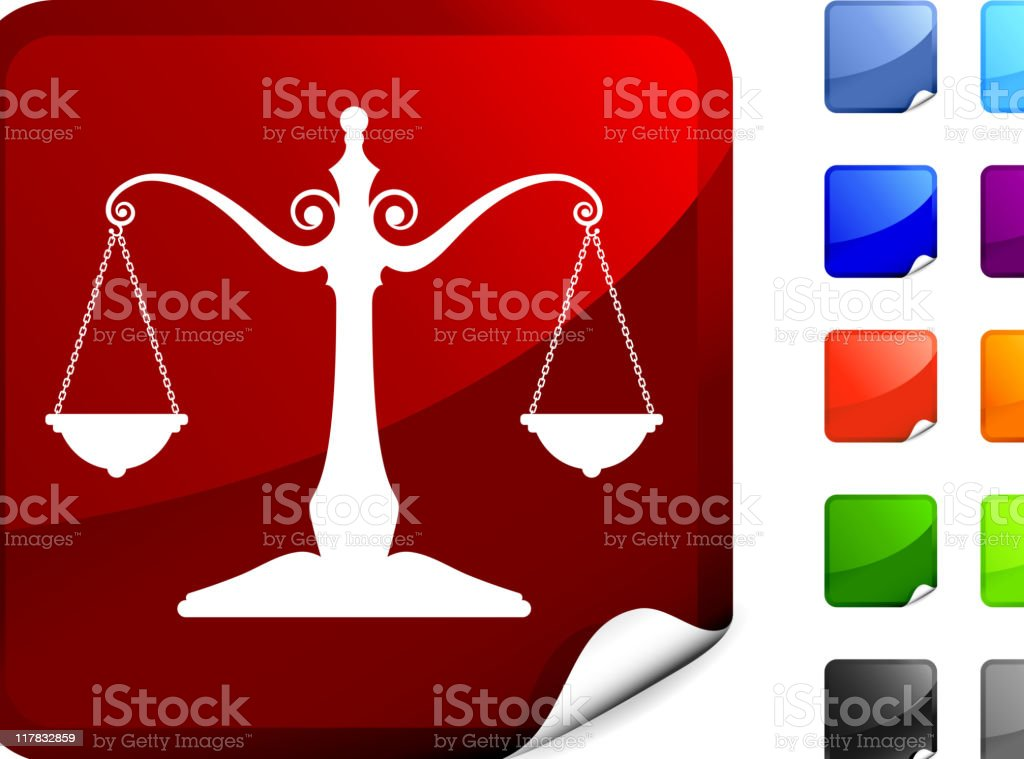 scale of justice internet royalty free vector art royalty-free stock vector art