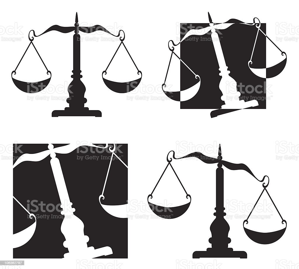 Scale royalty-free stock vector art