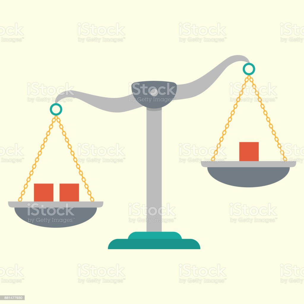 Scale Vector Illustration vector art illustration