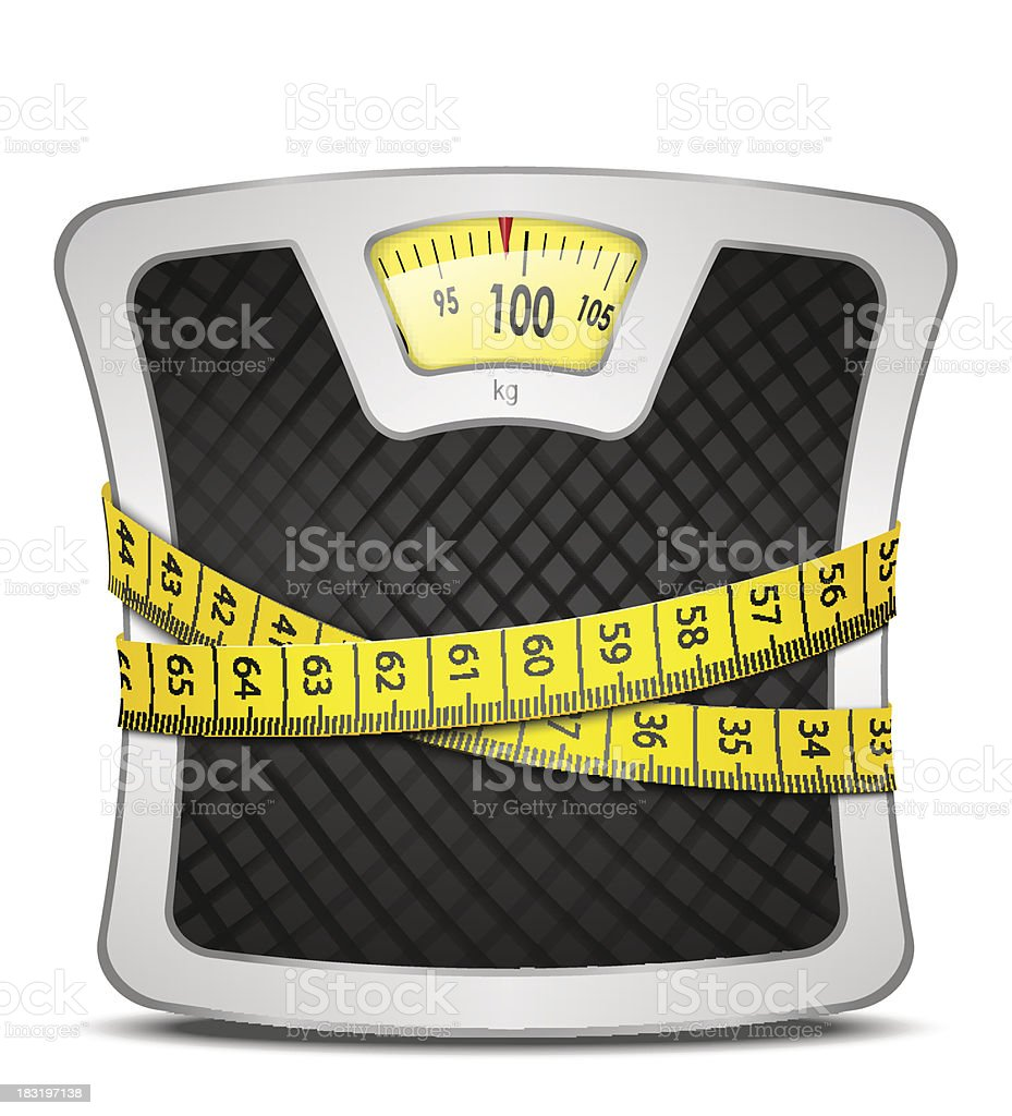 Scales Diet Concept royalty-free scales diet concept stock vector art & more images of balance