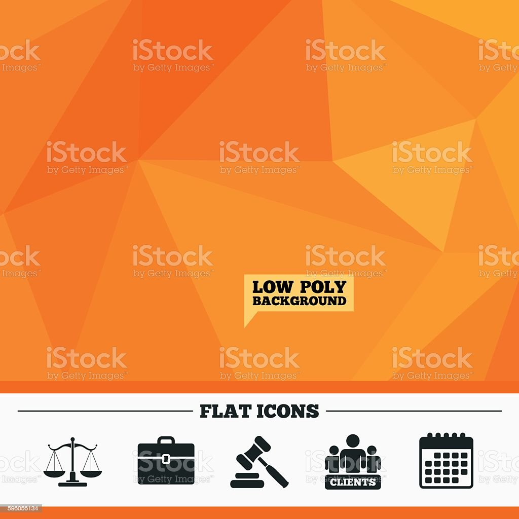 Scales of Justice icon. Auction hammer and case. royalty-free scales of justice icon auction hammer and case stock vector art & more images of ambassador