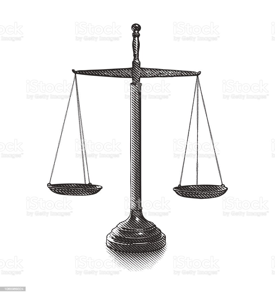 adaletin terazisi stok vektor sanati abd nin daha fazla gorseli istock