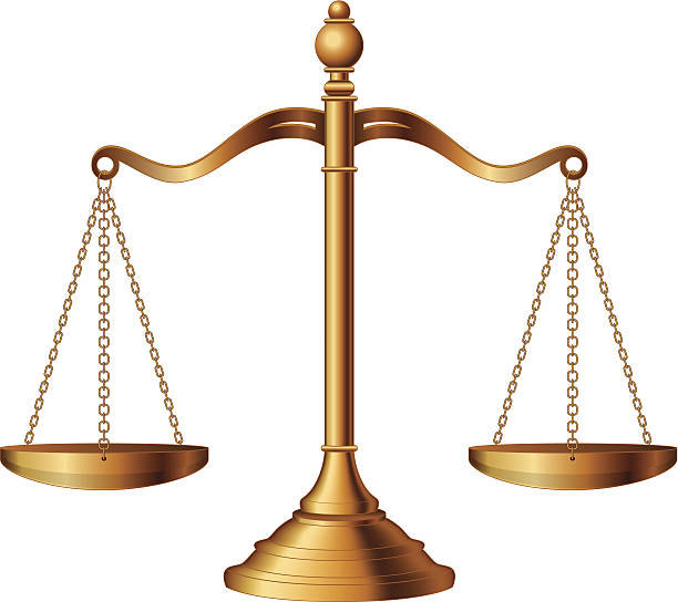scales of justice - weight scale stock illustrations
