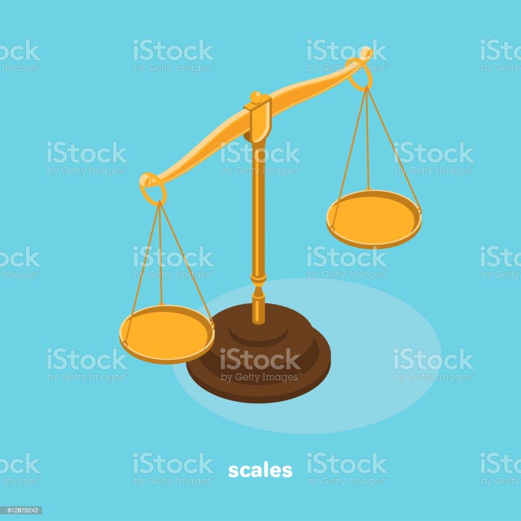 scales vector art illustration