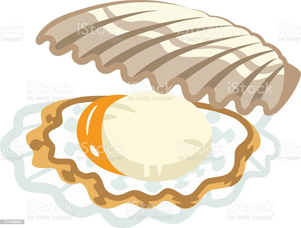 Scallop Stock Vector Art More Images Of Clip Art 514098862 Istock