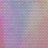 Scaly pattern. Scales of the fairy dragon. Rainbow blue pink background